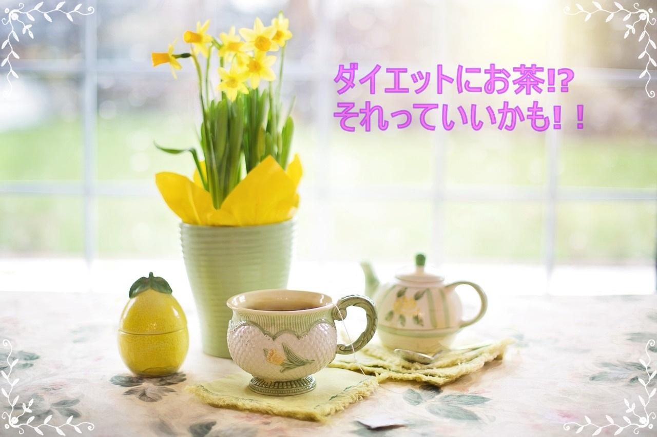 ダイエットの強い味方!毎日飲むお茶で便秘も解消しちゃおう!